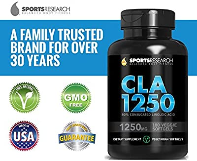 Sports Research CLA 1250mg (Highest Strength)