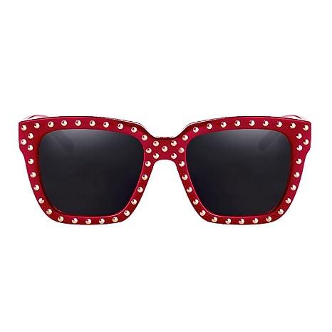 DT TD Gafas de Sol con Remaches Personalizables y protección ...