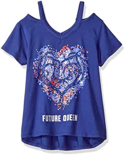 Disney D-Signed Big Girls' Descendants Cutout Graphic T-Shirt