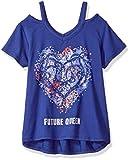 Disney Big Girls' Descendants Cutout Graphic T-Shirt, Royb, L