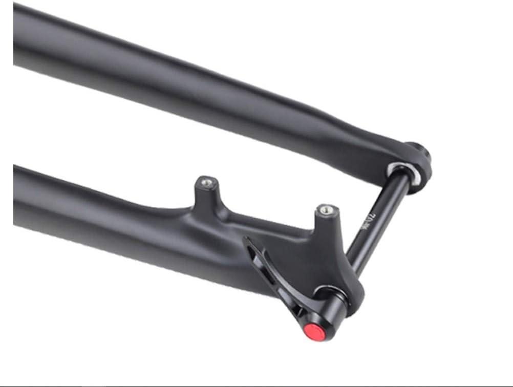29er Mountain Bike Carbon Fork Disc Mtb Rigid Tapered Bicycle Forks 100*15mm 3K