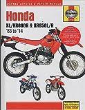 1983-2014 HAYNES HONDA XL/XR600R & XR650L/R SERVICE REPAIR MANUAL (2183)