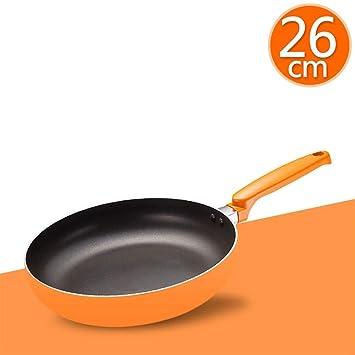 DWUN [a22 Olla, Wok, sartenes Pancake Pan Mini Sartén Antiadherente Steak Estufa de Gas para la Cocina de inducción Universal 26cm Color 4: Amazon.es: Hogar