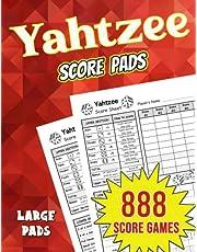 Yahtzee Score Pads: 888 Large Score Pages for Scorekeeping | Yahtzee Score Sheets (The Yahtzee Score Books)