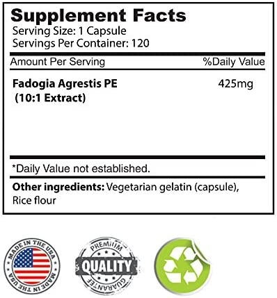 FADOGIA AGRESTIS 425mg x 120ct by Body Essentials
