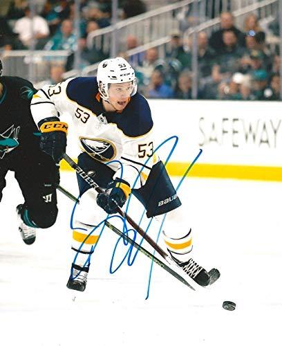 Jeff Skinner Signed Photograph - BUFFALO SABRES 8X10 w COA - Autographed NHL Photos (Sabres Photo Nhl Buffalo Signed)