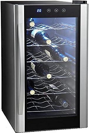 Syntrox Germany - Refrigerador de vino digital (18botellas)