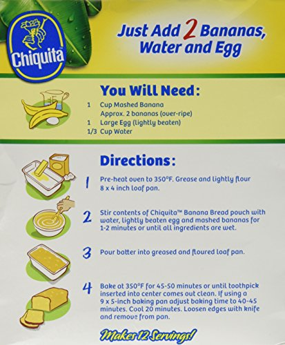 Chiquita Banana Bread Mix - 3 Boxes by Chiquita (Image #4)