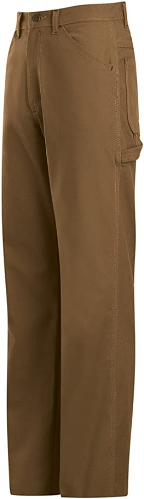 Bulwark Mens PLJ8BD Dungarees 28 x 27 Brown Duck