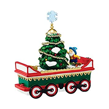 Department 56 North Pole Village Northern Lights Tree Car Accessory Figurine, 5.39 inch