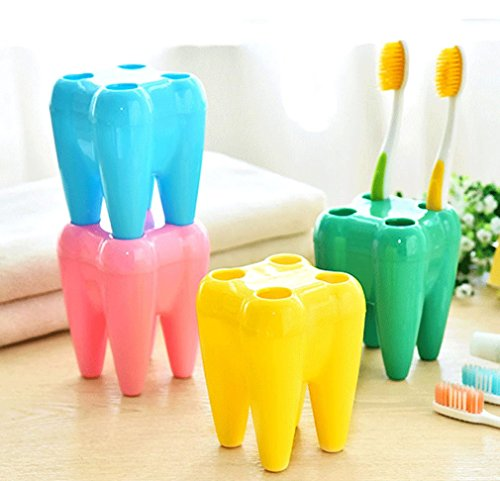 MONOMONO-Convenient Tool Seat Pencil Stationary Rack Tooth Holder Toothbrush Pen - Police Glass Cooling