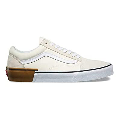 ddb0873d2c Vans Old Skool Gum Block Classic White Men s Skate Shoes Size 13