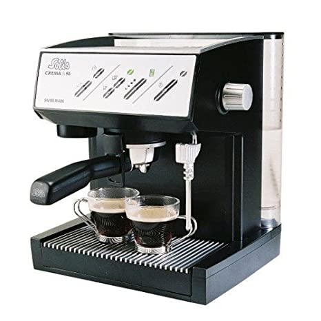 Amazon.com: Solis Crema SL90 Espresso machine Negro: Kitchen ...