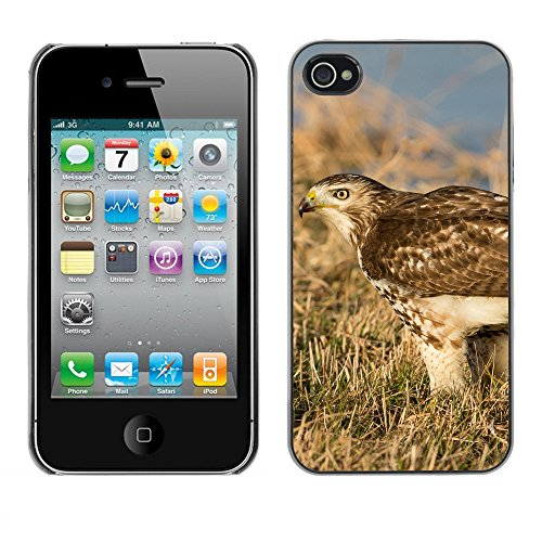 Premio Sottile Slim Cassa Custodia Case Cover Shell // F00012823 faucon // Apple iPhone 4 4S 4G