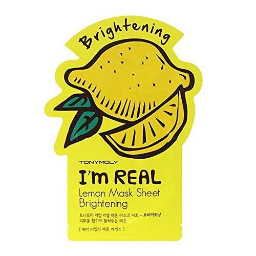 TONYMOLY I'm Real Lemon Brightening Mask Sheet