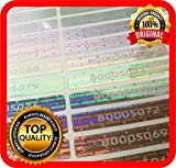 100 pcs Warranty Seals, Security Hologram