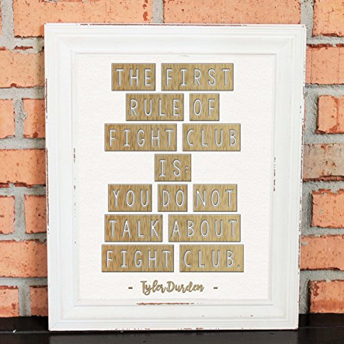 gifts-for-men-wall-art-gift-movie-quotes-mancave-the-first-rule-of-fight-club-is-you-do-not-talk-abo