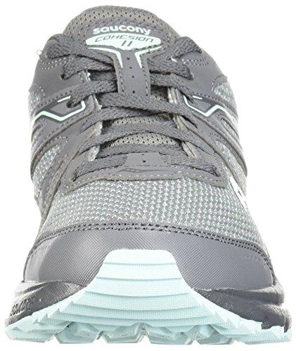 Mint TR11 Cohesion Women's Running Saucony Grey Shoe Hax4SWpw