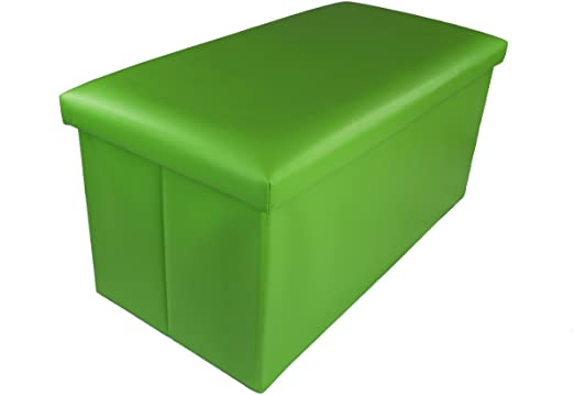 GMMH – Taburete Original 76 x 38 x 38 cm Box – Caja Puf Baúl Soporte Banco Plegable Soporta hasta 300 kg: Amazon.es: Hogar