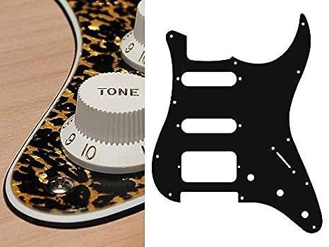 Golpeador Pickguard Stratocaster 3 Capas SSH para guitarra ...