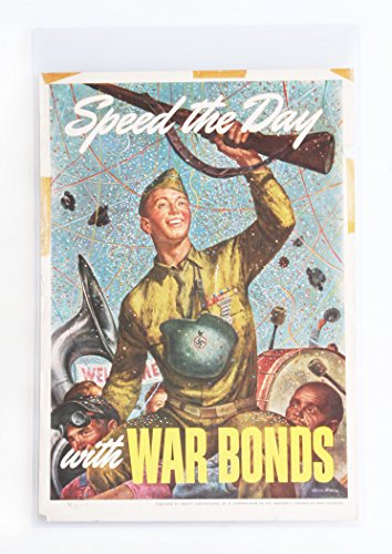 WAR BONDS WORLD WAR II POSTER BY JOSEPH HIRSCH