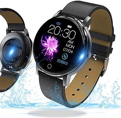 SmartWatch,Reloj Inteligente con Impermeable 68, Pulsera Actividad ...
