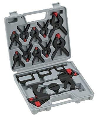 Woodstock D3628 Mini Clamp Set, 16-Piece by WOODSTOCK
