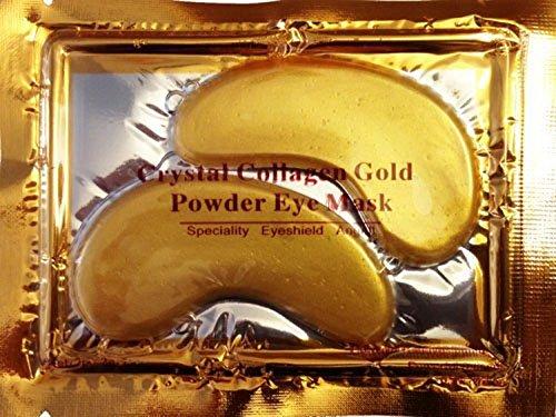 [20 Pair/40 Pcs Anti Aging Crystal 24k Gold Collagen Eye Mask Smooth Wrinkles for Eye Skin Care,no Dark Circles Anti-wrinkle Eye Bags] (Night Fury Costume For Cat)
