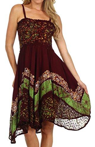 casual dress batik - 8
