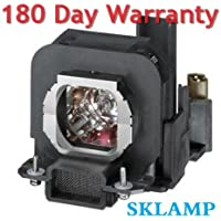 Sklamp ET-LAX100 Replacement Lmap Bulb with Housing For PANASONIC PT-AX200E,PT-AX100E, PT-AX200U, PT-AX100U Projectors