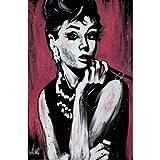 David Garibaldi (Audrey Hepburn, Fabulous) Art Poster Print Poster Poster Print, 24x36