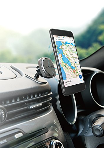 Capdase Magnetic Mount with Dashboard Phone Car Mount Holder for Smartphones Mini Tablets with Swift-snap Technology by Capdase