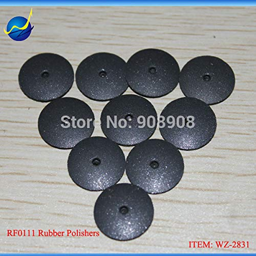 Maslin 10 PCS SWIFTY 1 STEP HIGH POLISHER RUBBER TAPER DISCS + 1 PC 3/32