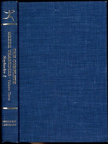 SOPHOCLES I Oedipus the King, Oedipus At Colonus, Antigone
