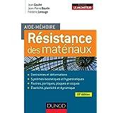AIDE-MÉMOIRE DE RESISTANCE DES MATÉRIAUX 10E ÉD.