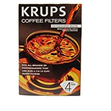 Krups 983 Natural White Coffee Filters, 100-Count