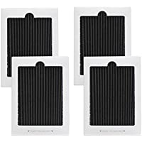 4 Pack Refrigerator Air Filter Replacement - Fits for Frigidaire PAULTRA Pure Air Ultra & Electrolux EAFCBF 242047801,242047804,241754001,241754002,242061001,7241754001,PS1993820,RAF1150