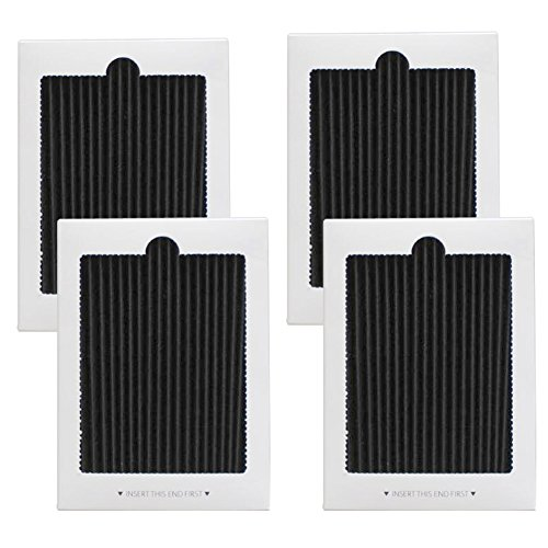 Price comparison product image 4 Pack Refrigerator Air Filter Replacement - Fits for Frigidaire PAULTRA Pure Air Ultra & Electrolux EAFCBF 242047801, 242061001, 7241754001