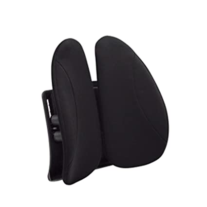 Urbo cojín de respaldo lumbar ergonómico con ajuste de altura para adaptarse a cualquier asiento y silla, alas móviles que se adaptan a tus cambios y ...