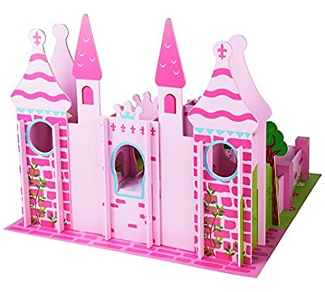 New Wood Shed Fairy Castle Playset Toy Amazoncouk Toys Games