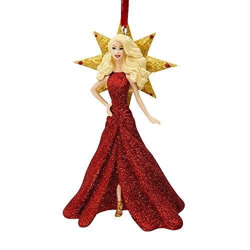 2017 Holiday Barbie Christmas Ornament By Hallmark