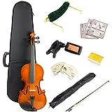 Windsor VIOLINSK44 Violin Super kit, includes case, bow, 2xRosin 2x bridge, spare strings, digital tuner, music stand and shoulder rest.