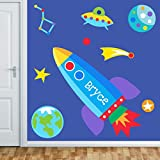 Out of This World Personalized Jumbo Mural By Olive Kids