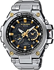 Casio G-Shock Mens Solar MT-G Triple G Resist Watch MTGS1000D-1A9
