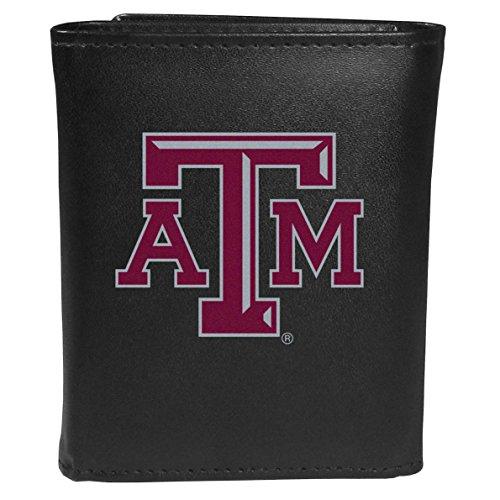 Siskiyou Sports NCAA Texas A&M Aggies Tri-fold Wallet Large Logo, Black