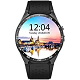 LENCISE Latest Android 5.1 Smart Watch Phone MTK6580 CPU 1.39 Inch 400*400 Screen 2.0MP Camera Smartwatch for Apple Huawei Cellphone.