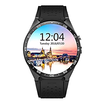 LENCISE Latest Android 5.1 Smart Watch Phone MTK6580 CPU 1.39 Inch 400*400 Screen 2.0