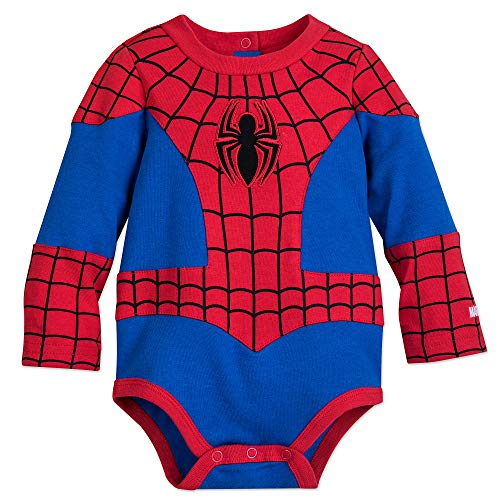 Marvel Spider-Man Costume Bodysuit for Baby Size 12-18 MO Multi]()