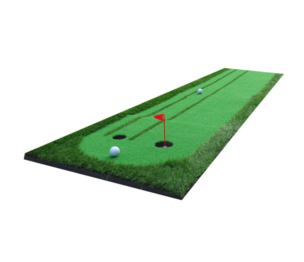ゴルフダブルフェアウェイ精密パター練習シミュレーション芝生初心者スーツ   B0795NX13T