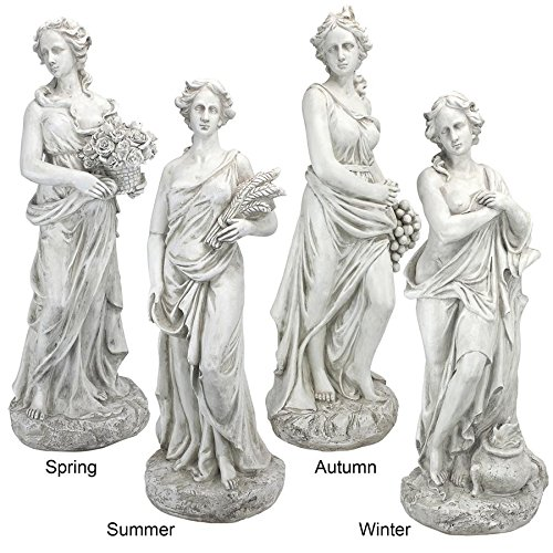 Design Toscano Goddesses of the Four Seasons Statue Collection